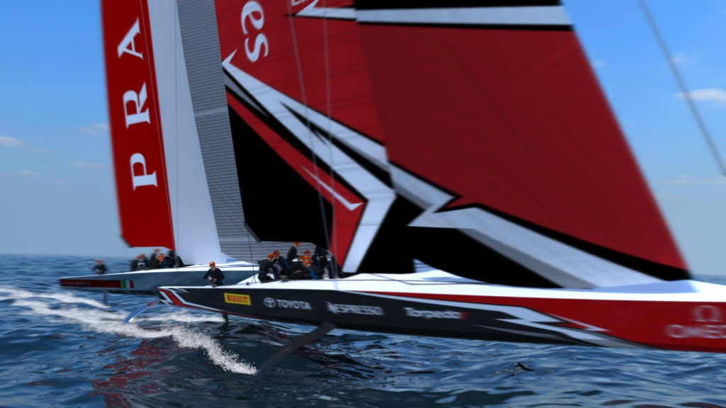 THE AMERICA\'S CUP CLASS AC75 BOAT CONCEPT REVEALED - America\'s Cup