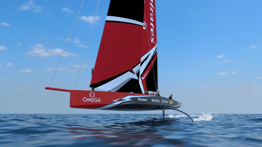 America's Cup AC-75 concept for 36th running