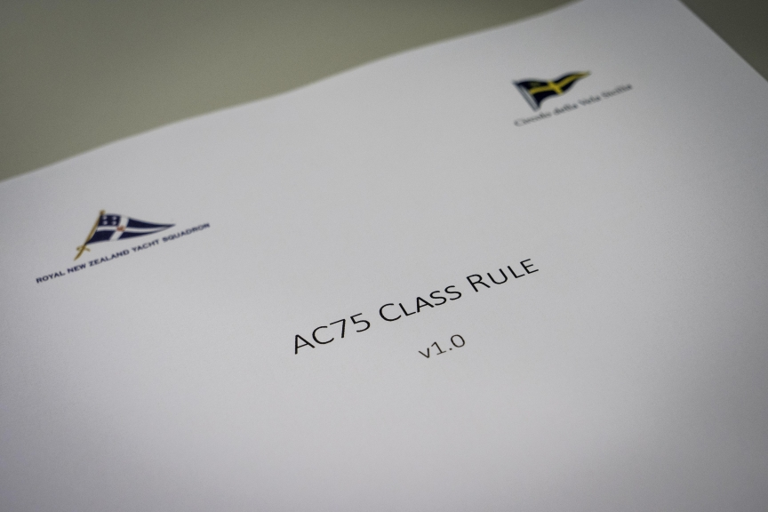 29/3/18- 36th America's Cup Class Rule
